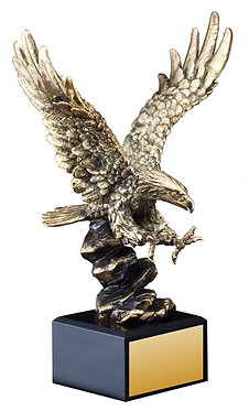 American Eagle Resin Sculptures