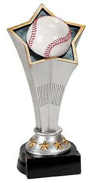 Baseball Rising Star Resin