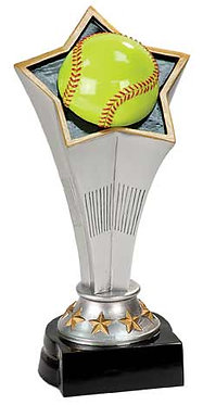 Softball Rising Star Resin