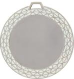White Bling Medal Insert Holder - HR946