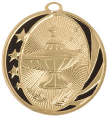Lamp of Knowledge Midnite Star Medal