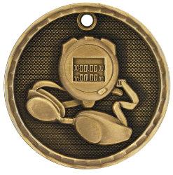Swimming 3D Medal