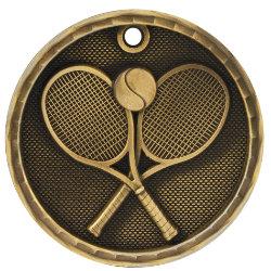Tennis 3D Medal