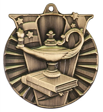 Lamp of Knowledge Varsity Medal
