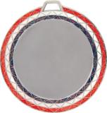 Red, White and Blue Bling Insert Medal -HR948
