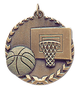 Basketball Millennium STM Medal