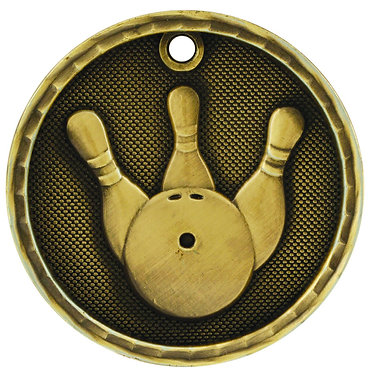 Bowling 3D Medal