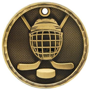 Hockey 3D Medal