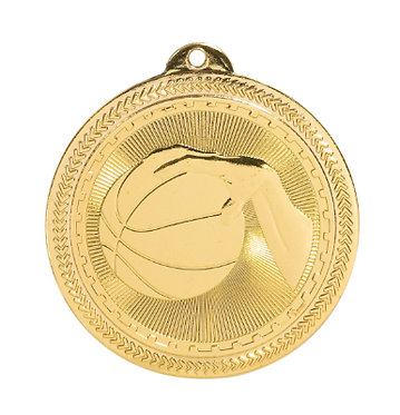 Basketball BriteLazer Medal
