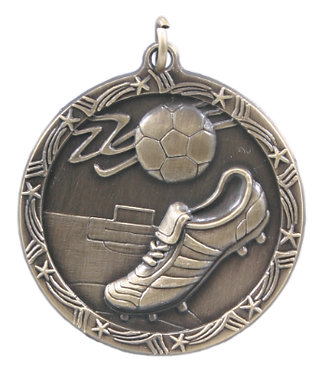 Soccer Shooting Star Medal