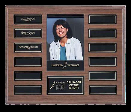 12 Plate Recognition Pocket Photo Plaque