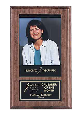 "6"" x 10"" Recognition Pocket Photo Plaque"
