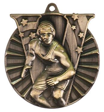 Wrestler Varsity Medal