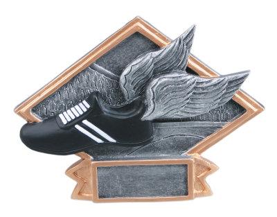 Track Diamond Plate Resin