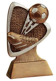 Soccer Triad Resin