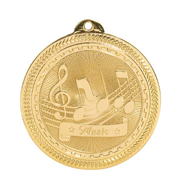 Music BriteLazer Medal