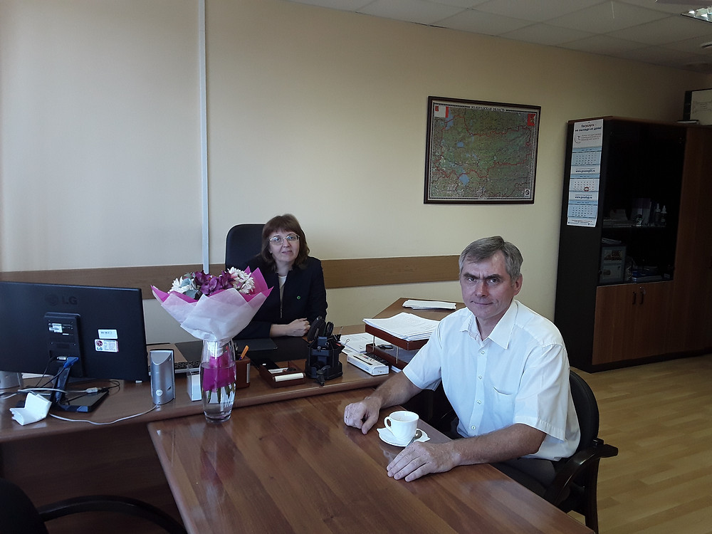 Встреча с Ириной Просвиряковой