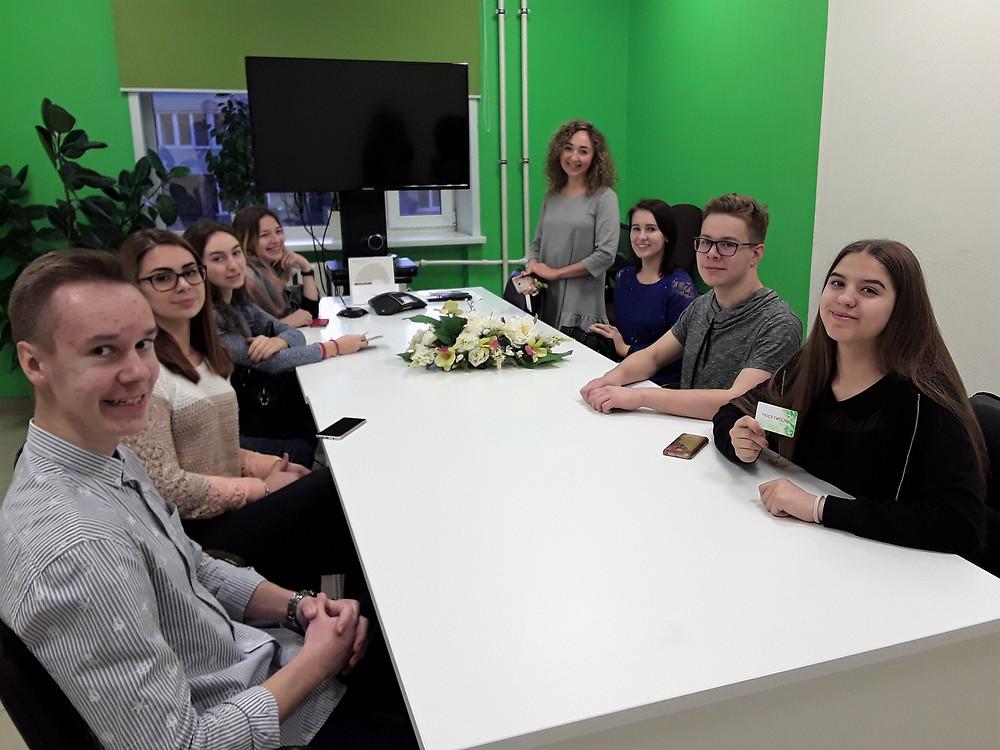 В офисе СберТех Вологда