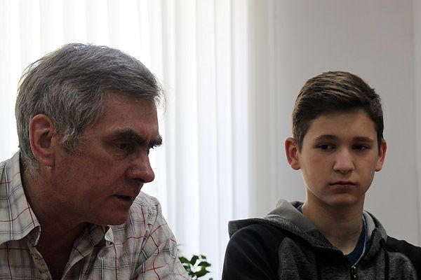Павел Горбунов с Русланом Редькиным