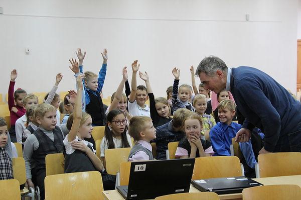Кибер-соревнования 33 школа Вологда