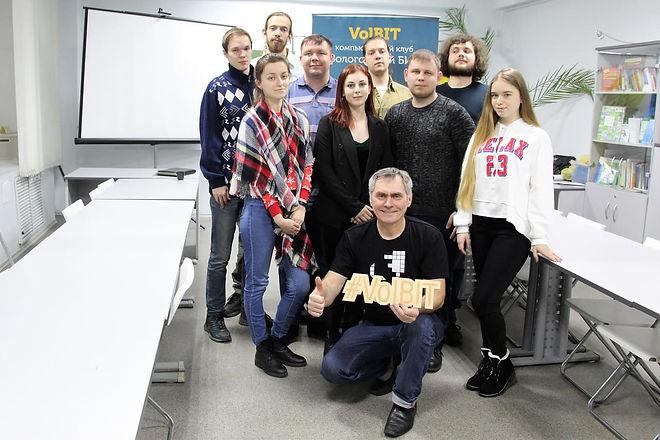 Встреча преподавателей - волонтеров 2019