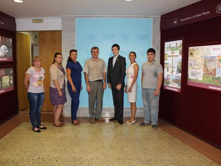 Молодежное правительство совместно с ВРОО «Созидание» и БУ ВО «Электронный регион» запускают проект
