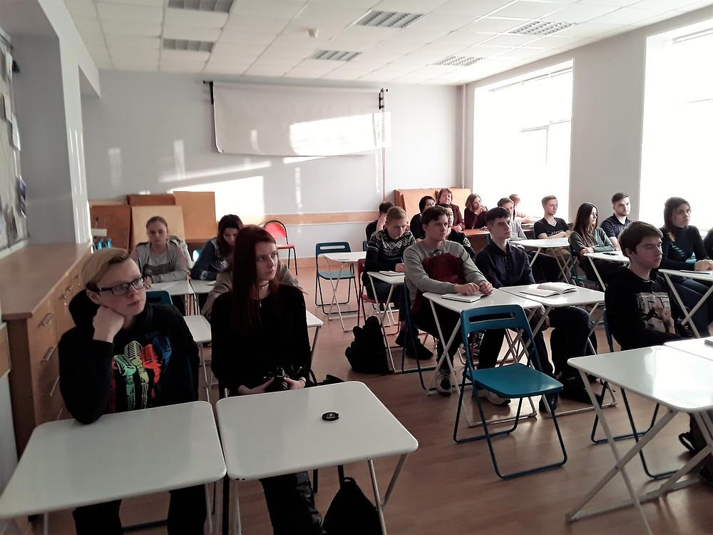 Встреча с предпринимателем Сергеем Клещиновым в ВКК