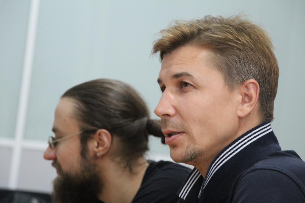 Алексей Пахомов - встреча в коворкинге