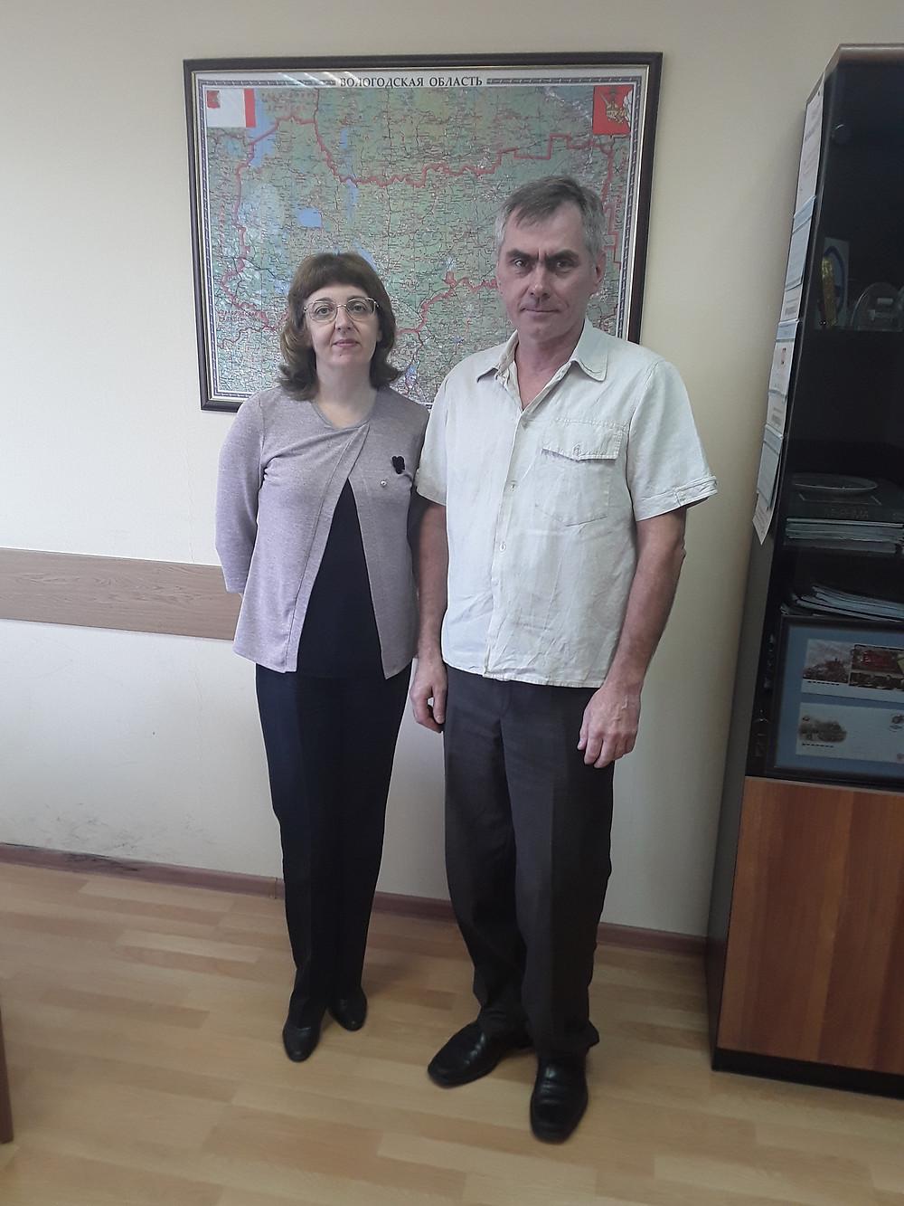 Ирина Просвирякова и Павел Горбунов