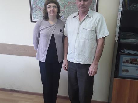 Встреча с председателем КИТиТ Вологодской области