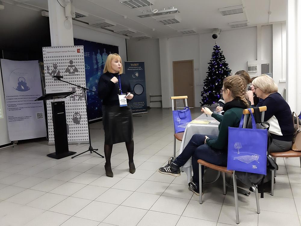 Встреча с учителями информатики в IT-кафе Клуба IT-директоров