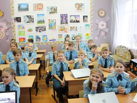 Кибер-соревнования для кадетов в Кириллове