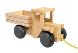 Wooden Truck Black