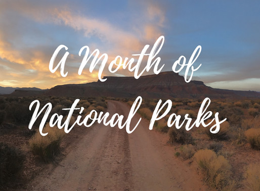 A Month of National Parks