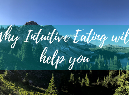 How Intuitive Eating can help YOU
