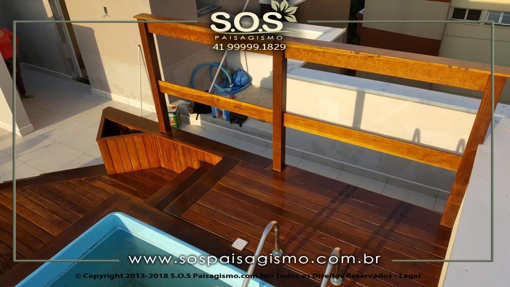 Modelos de deck e Pergolados