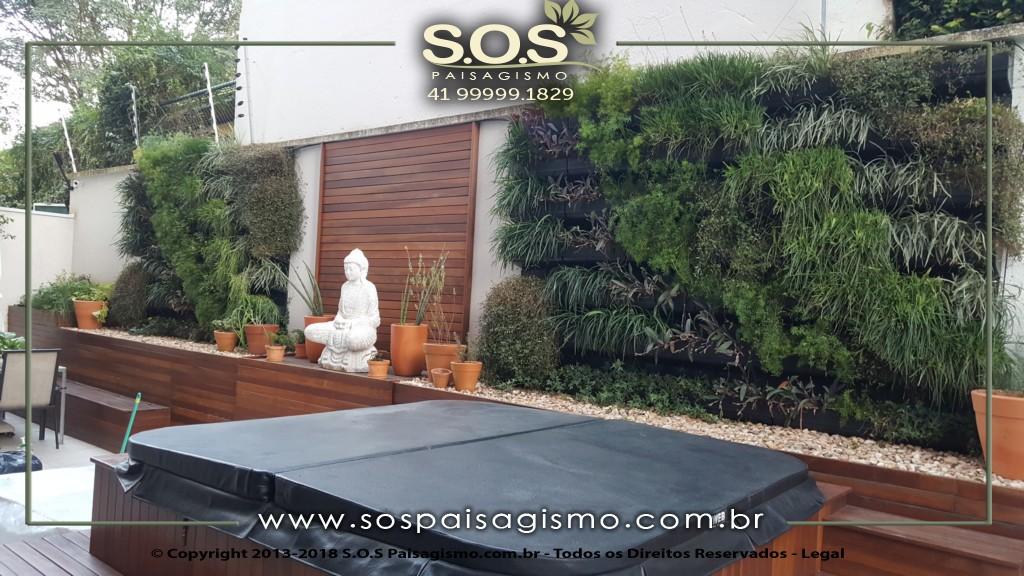 Modelos de Parede Verde em Curitiba