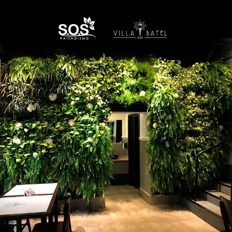 #Jardim Vertical # Villa Batel Bar