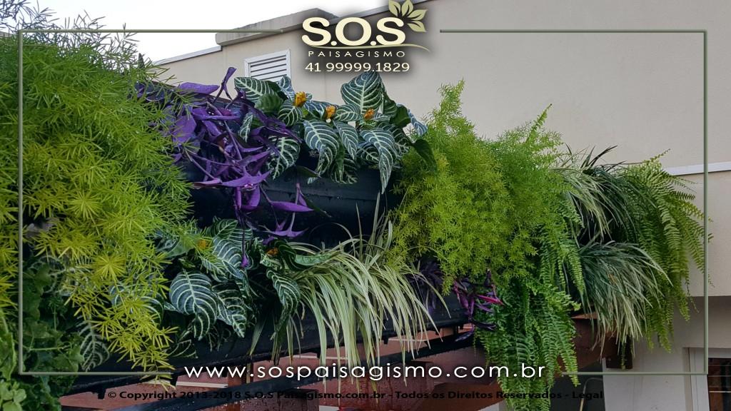 Parede Verde Jardim Vertical
