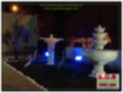 S.o.s Jardinagem e Paisagismo em curitiba  projeto com fonte de agua e luz