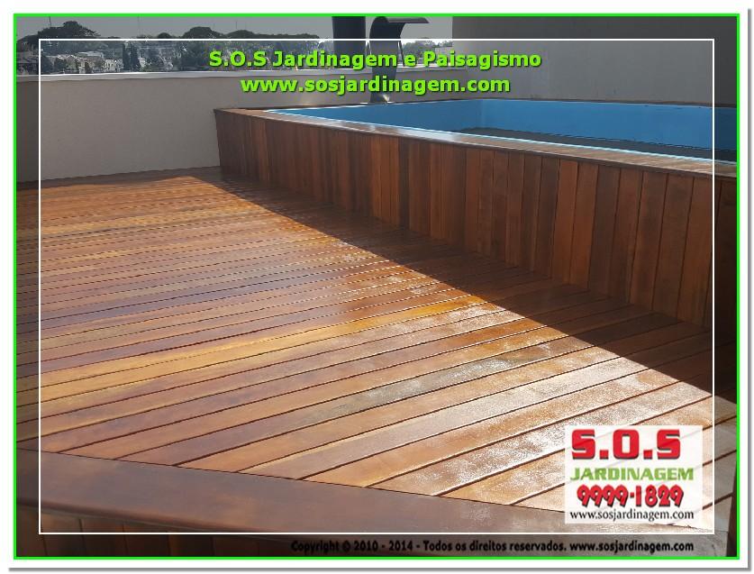 S.O.S Jardinagem e Paisagismo Deck Arquivil  00193