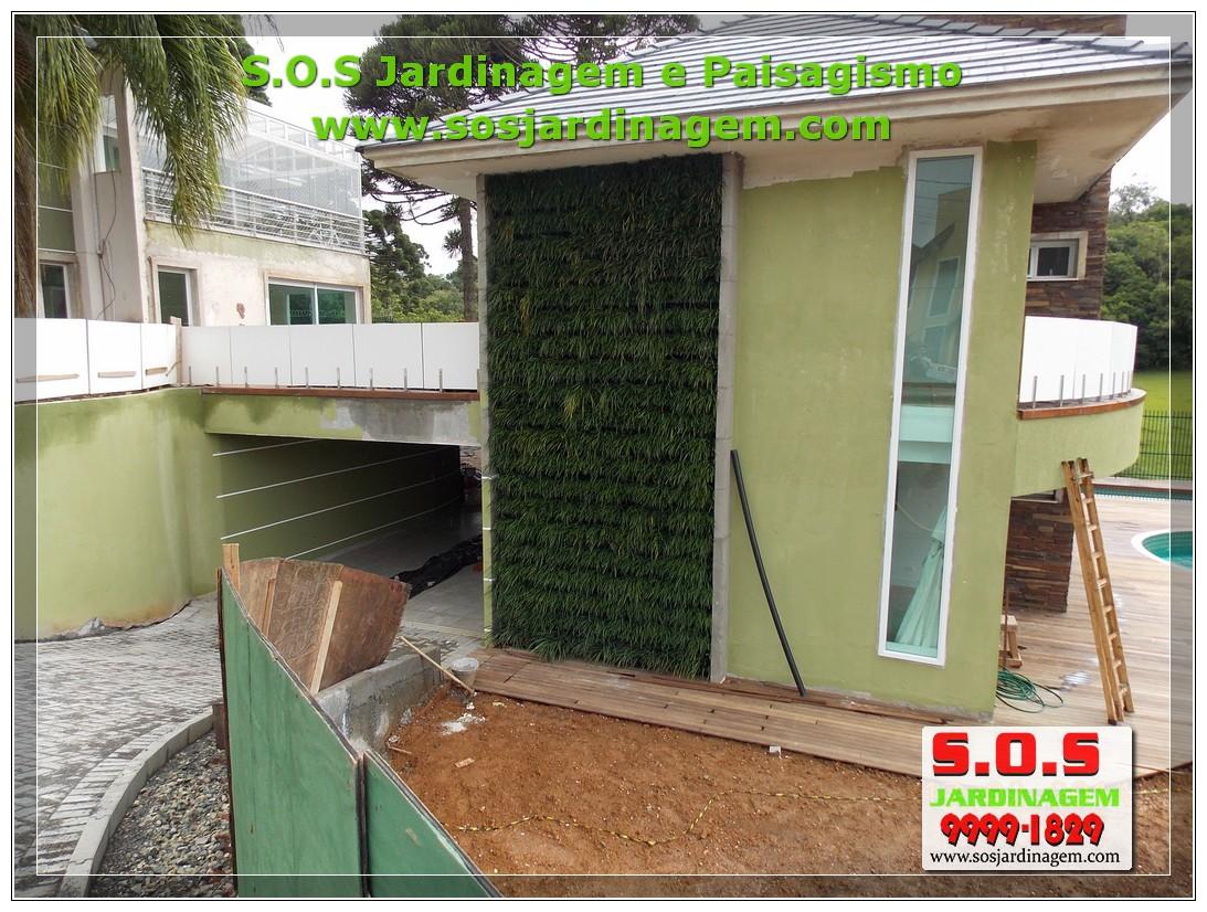 Jardim Vertical S.O.S Jardinagem