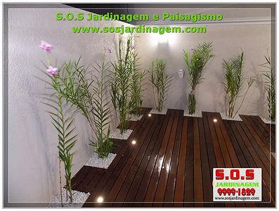 S.o.s Jardinagem e paisagimo, serviços de manutençao e projetos  feito pela s.o.s jardinam