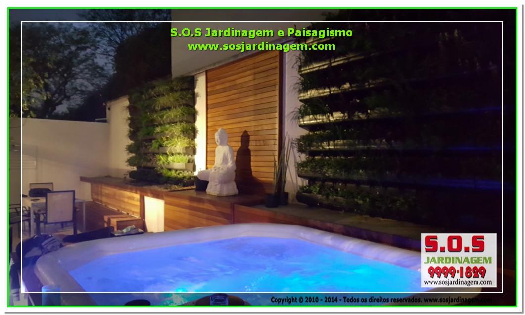 S.O.S Jardinagem e Paisagismo Deck Arquivil  00170