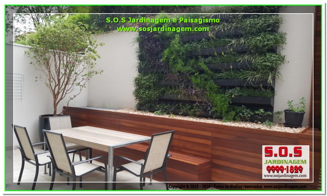 S.O.S Jardinagem e Paisagismo Deck Arquivil  00317