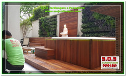 S.O.S Jardinagem e Paisagismo Deck Arquivil  00285
