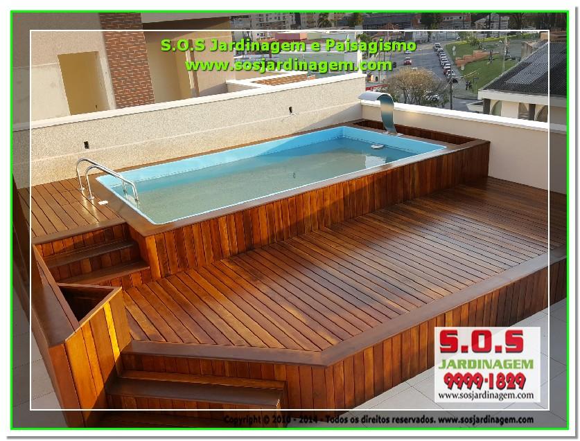 S.O.S Jardinagem e Paisagismo Deck Arquivil  00219