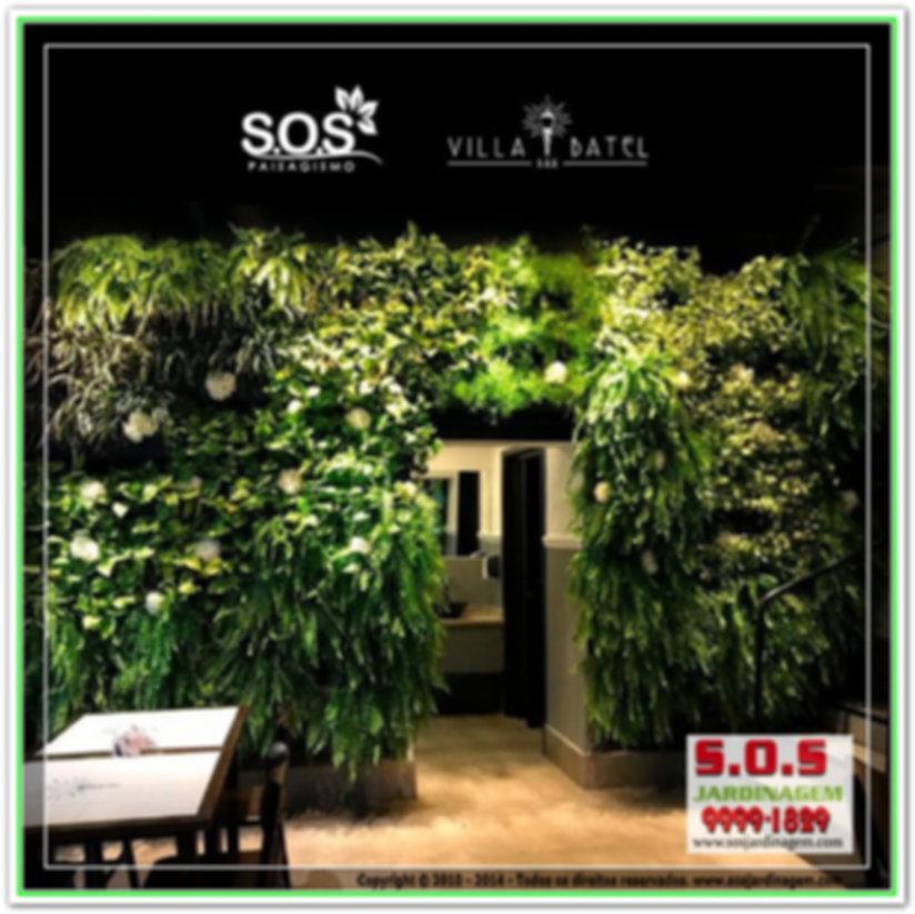 Villa Batel Bar 1630 #S.O.S Jardinagem #Jardim Vertica