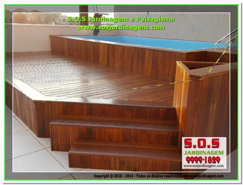 S.O.S Jardinagem e Paisagismo Deck Arquivil  00242
