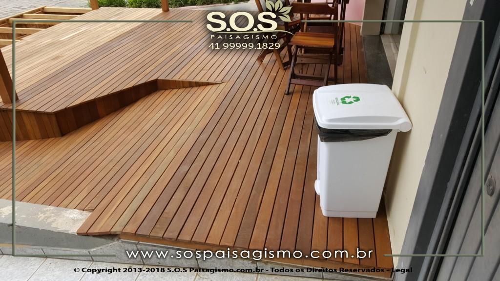 Deck de Madeira em Curitiba
